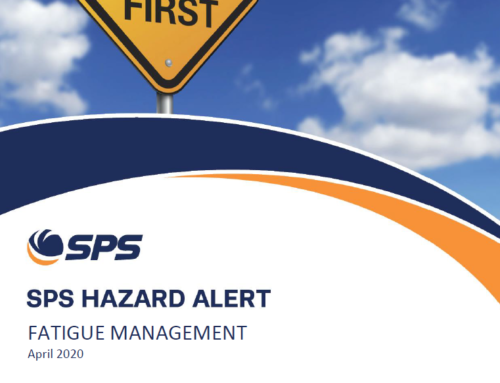 SPS Hazard Alert – Fatigue Management