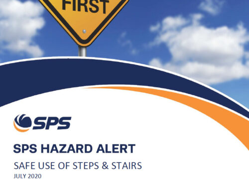 Safe use of steps and stairs